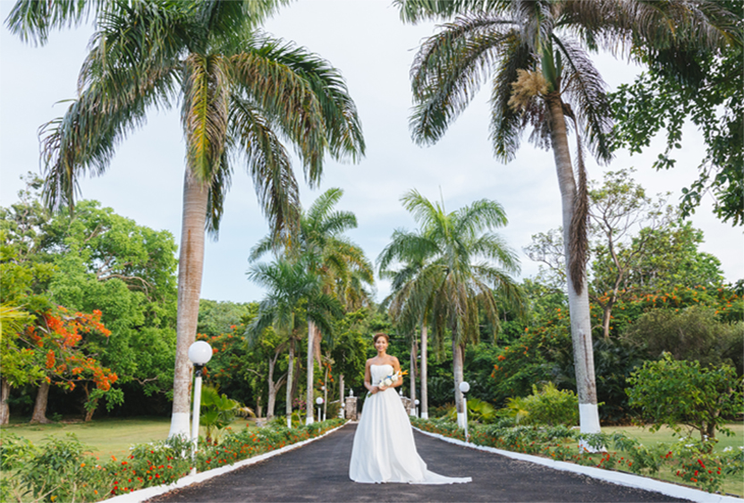tamarambeauty for www.adrianaweddings.com, Irie Jamaican Bridal Inspiration