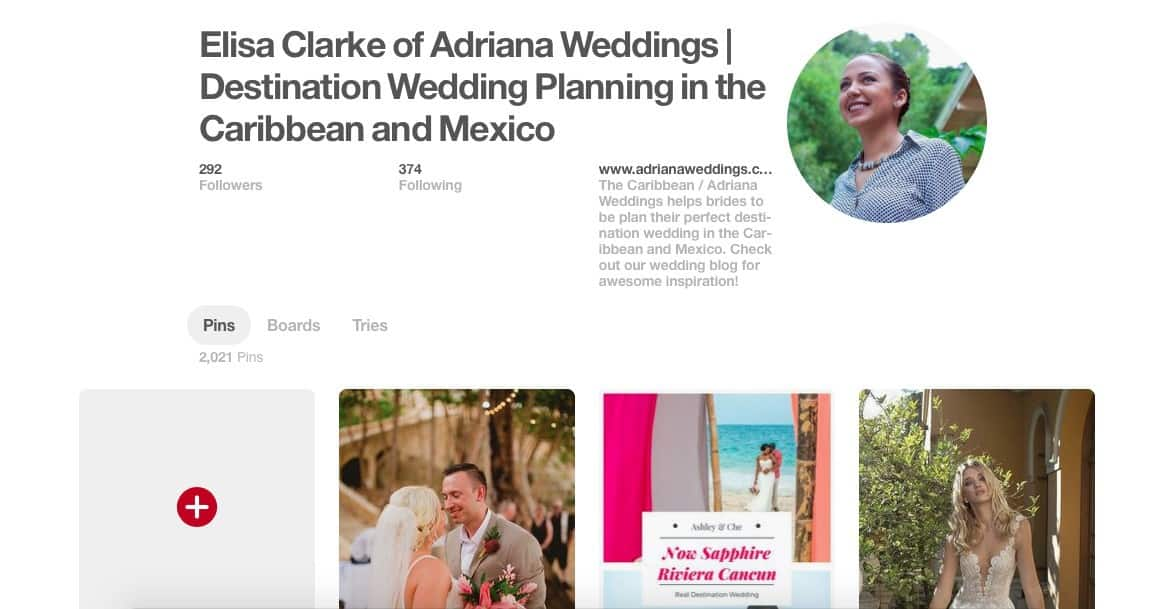 How to use Pinterest to help plan your destination wedding