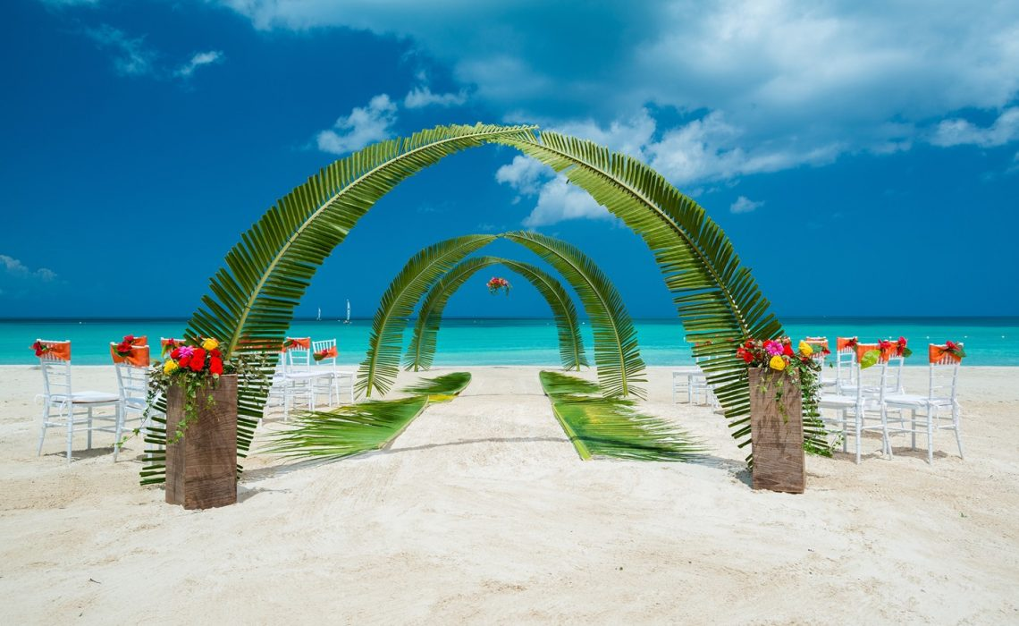 From Aisle to Isle, Sandals Resorts, Weddings with flair for www.adrianaweddings.com