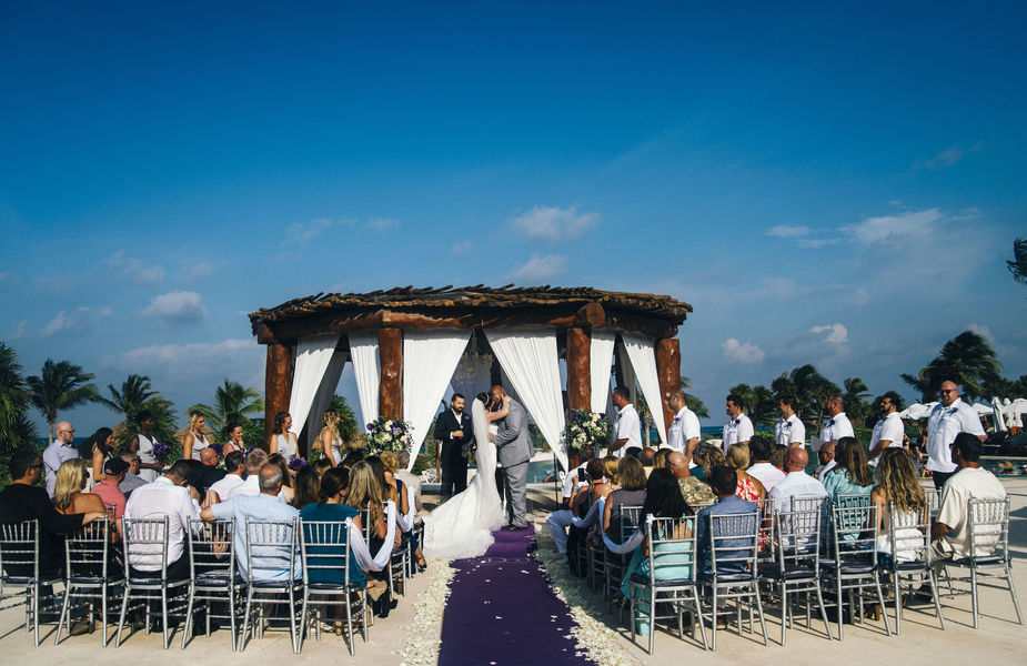 Secrets Maroma Beach Wedding with Chris Klas Photo for Destination Wedding Blog Adriana Weddings