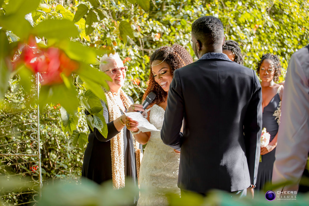 Jadelle & Jayron's Garden Wedding in Trinidad & Tobago, Photography by Cheers Visual Communications for Destination Wedding network Adriana Weddings