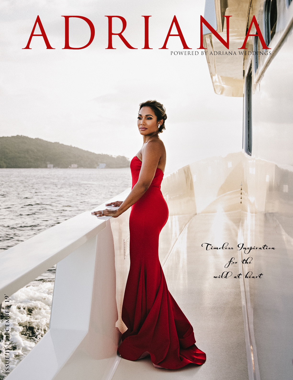 ADRIANA Issue II - Wild At Heart, Photography by Julie Charlett Photography, Wedding Dress by Van der Vlugt