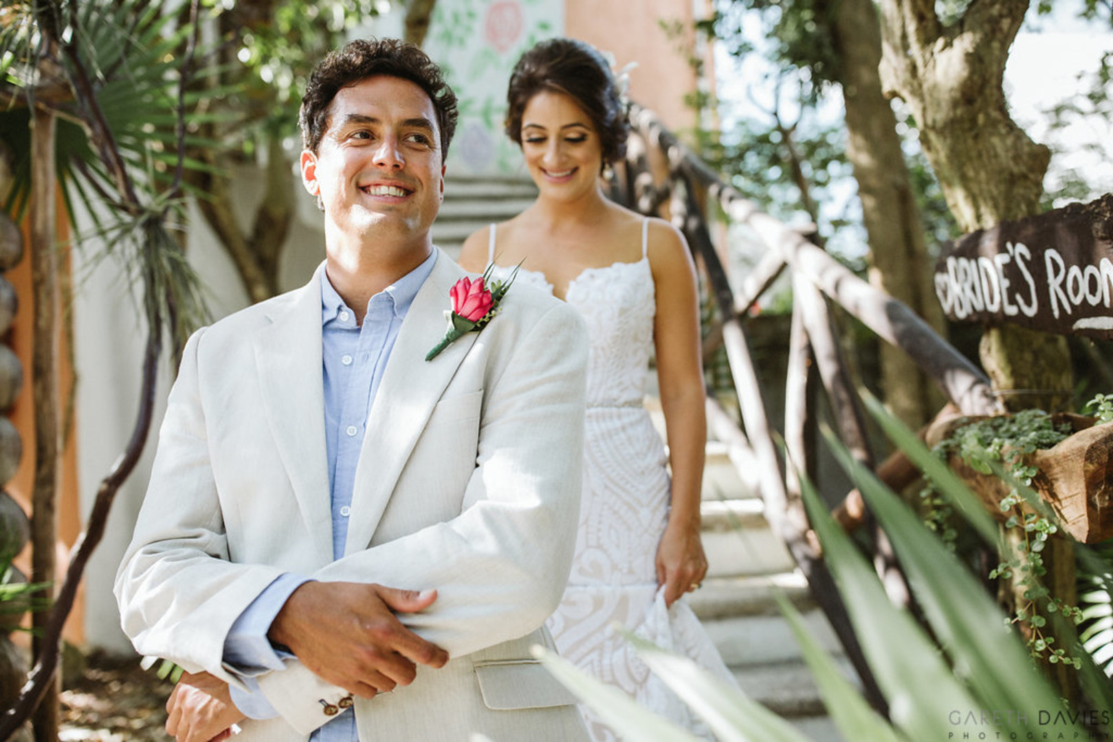 Sarah & Juan's Persian Batucada Wedding In Mexico