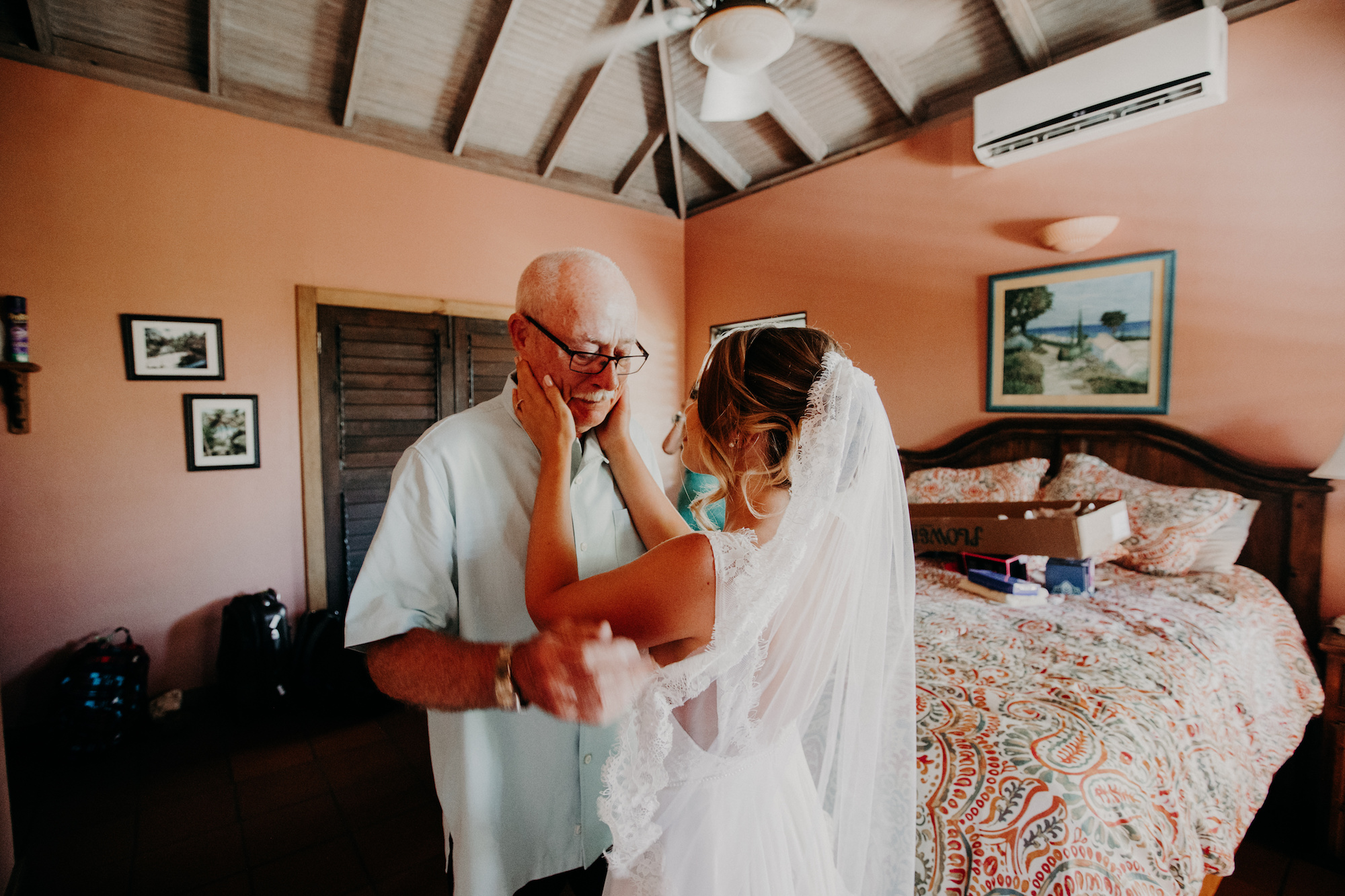 Intimate Bohemian Caribbean Wedding, Amber Dawn Photography for Destination Wedding Blog Adriana Weddings