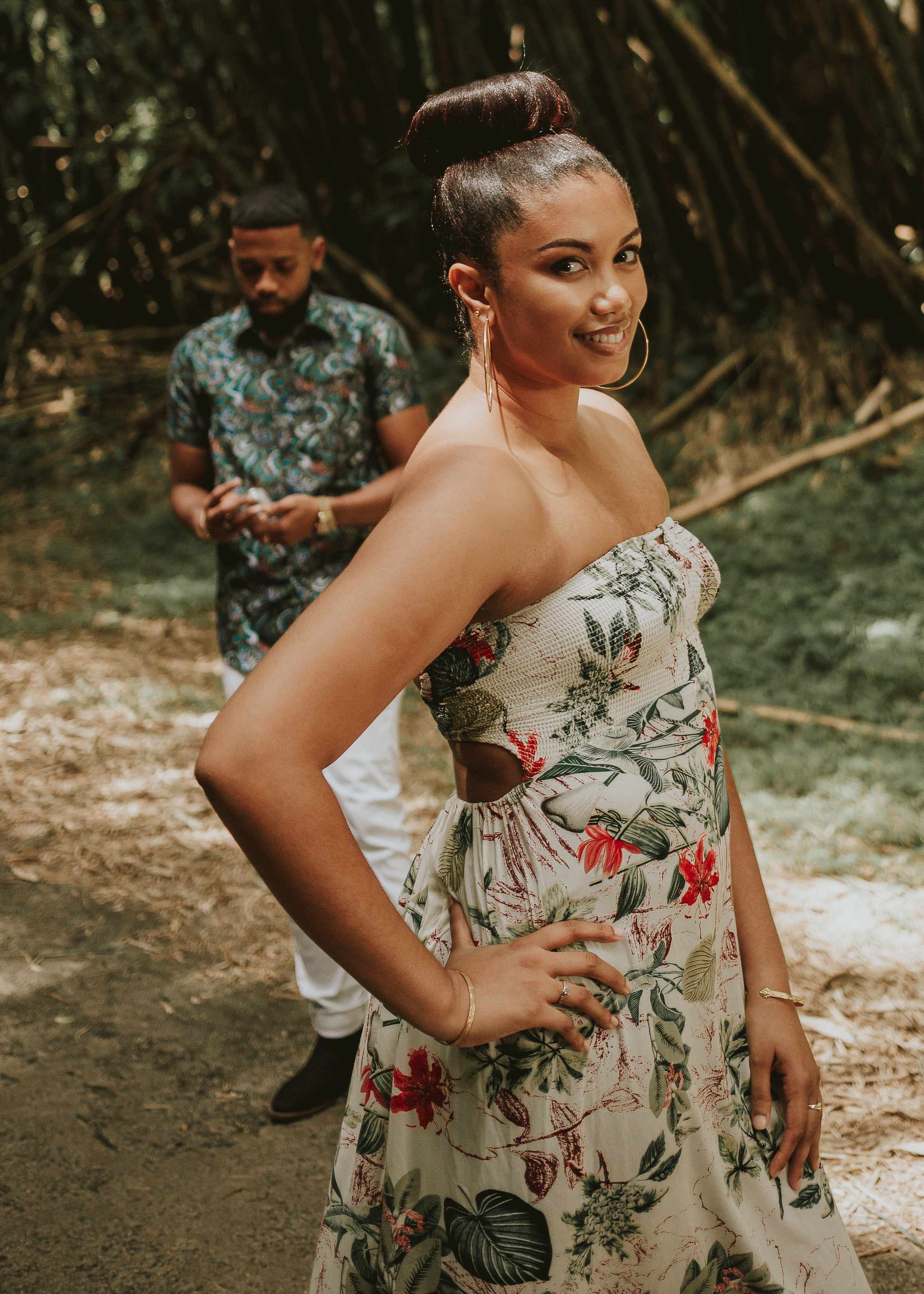 Brinnelle & Leroy's Fun Engagement in Trinidad and Tobago