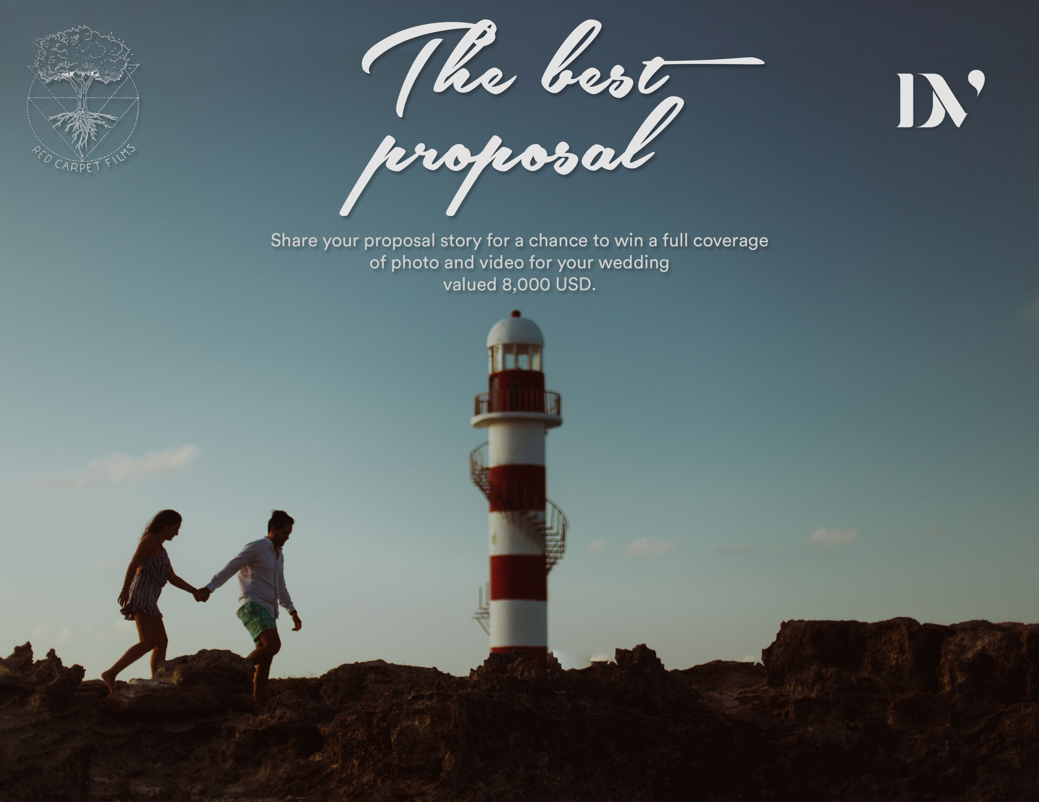The Best Proposal 2019 Promotion by Daniela Villarreal Photographer and RED Carpet Films, Destination Wedding Blog Adriana Weddings, Mexico, Mexico weddings