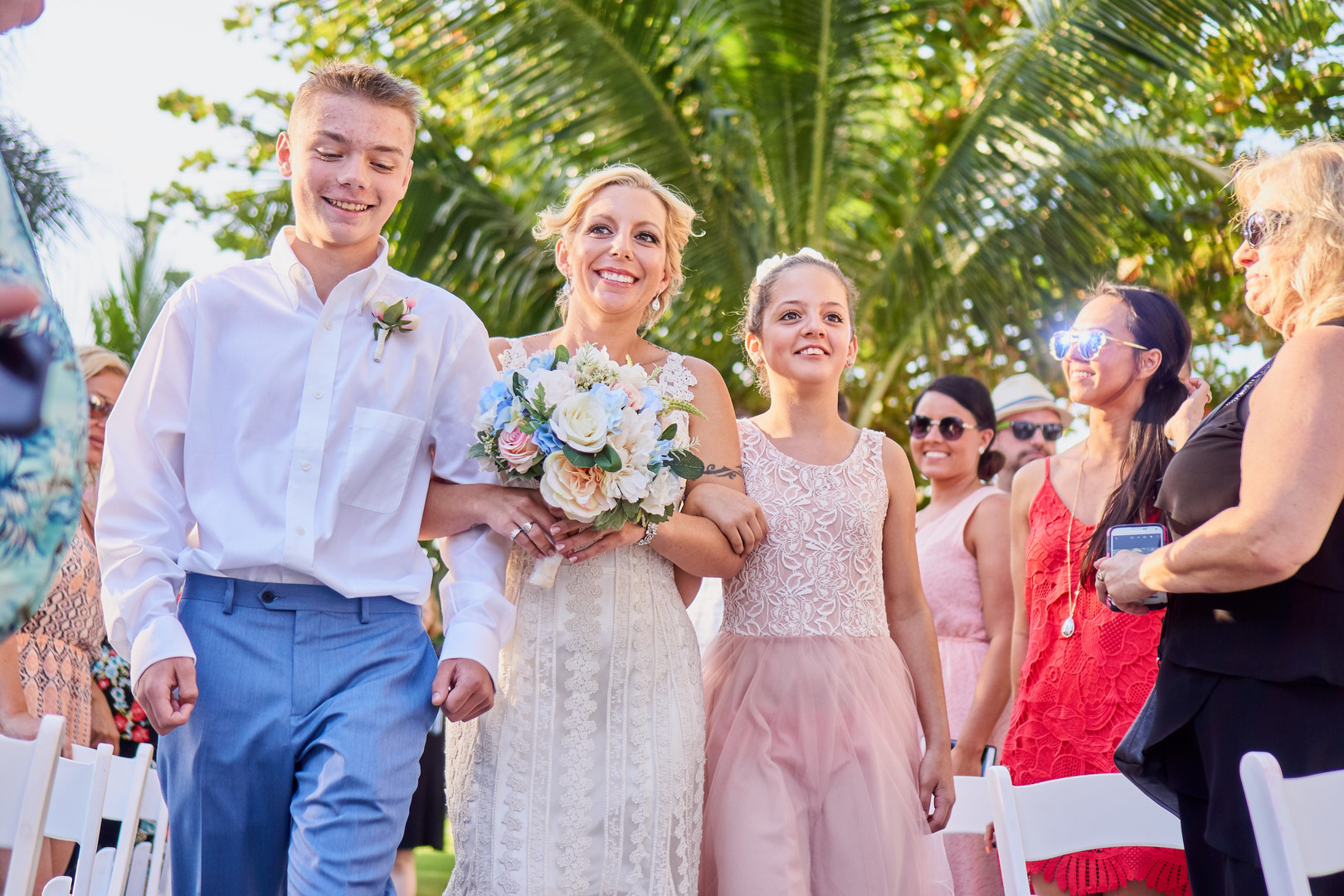 Stephine and Jason Pastel Playa del Carmen Destination Wedding, Photography by Lavender Bouquet Photography for Destination Wedding Blog Adriana Weddings