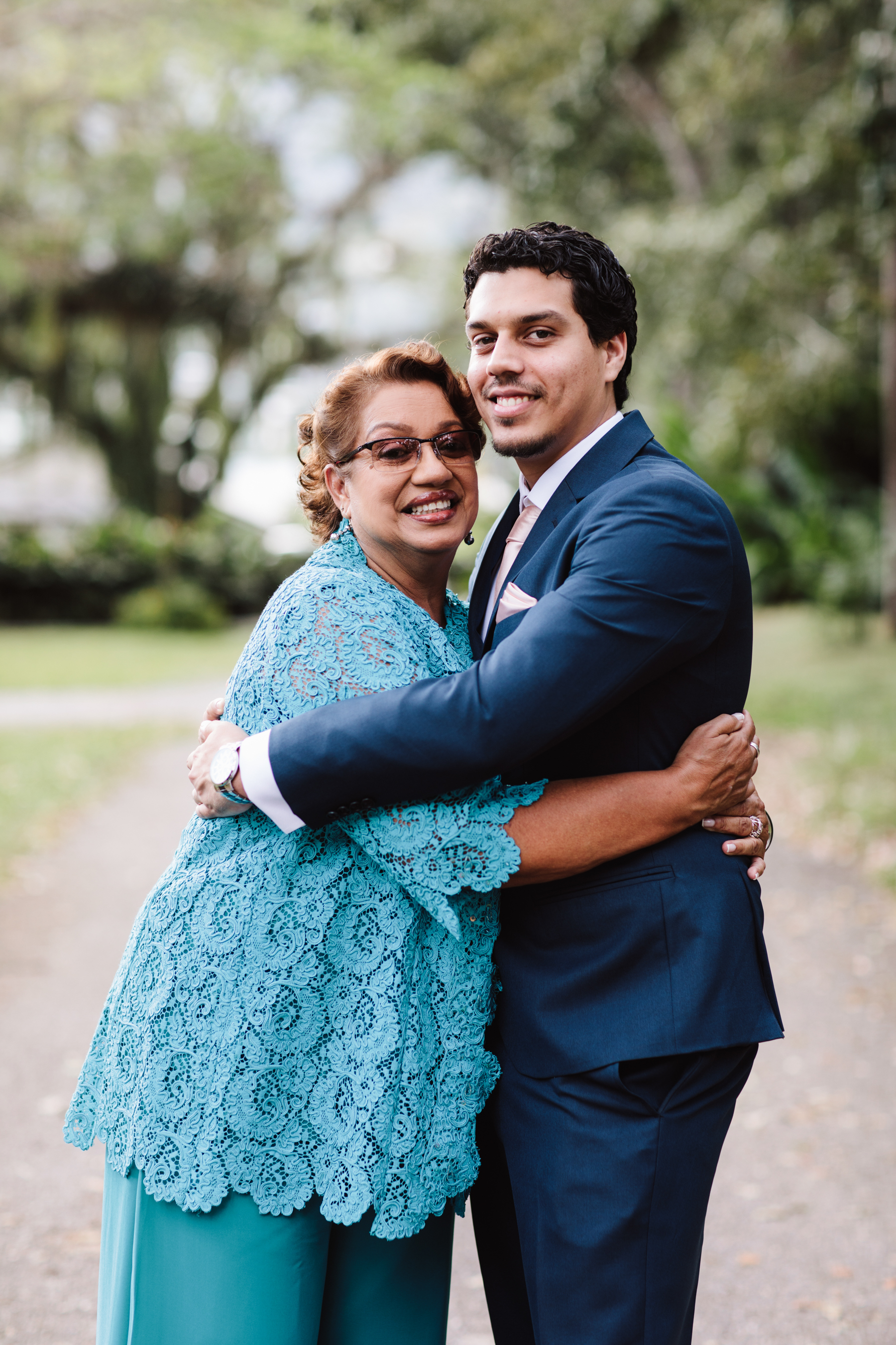 Lori & Mark's Celebratory Blend Of Love And Family In Trinidad & Tobago, Photography by Julie Charlett Photography for Destination Wedding magazine ADRIANA.