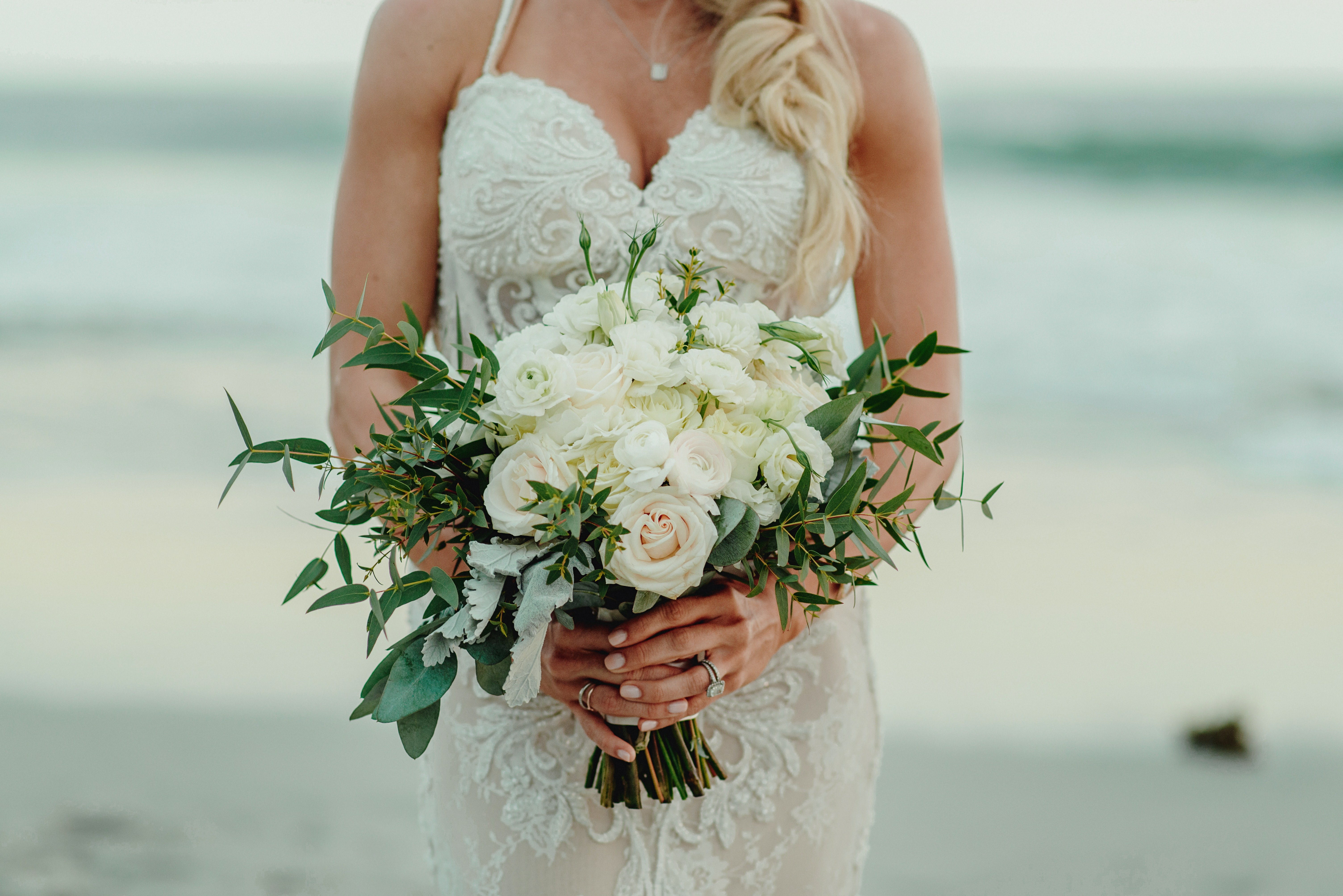 Courtney and Luis's Destination Dream At W Punta De Mita, Mexico, Photography by Fer Juaristi photography, Wedding Dress by Naama & Anat Haute Couture for Destination Wedding Blog Adriana Weddings
