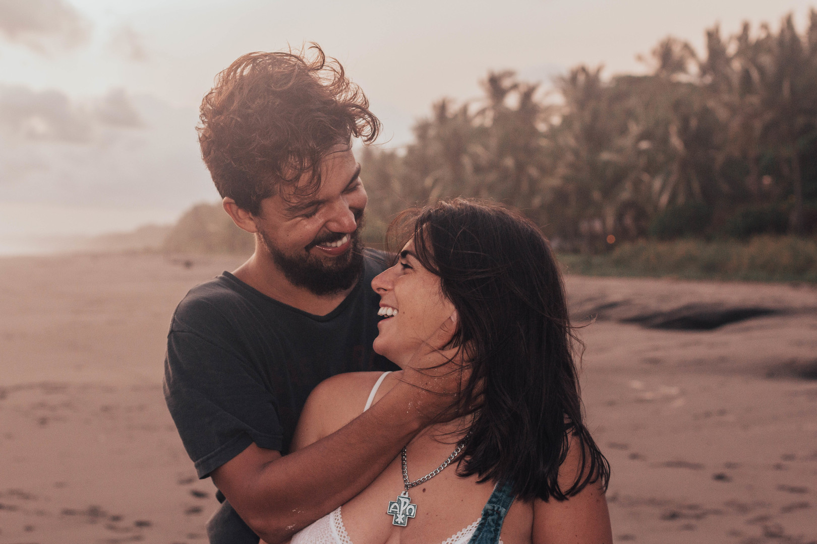 Agustina & David's Engagement Shoot In Playa Bejuco, Costa Rica. Photography by SunRae Photography, LLC for Destination Wedding network Adriana Weddings