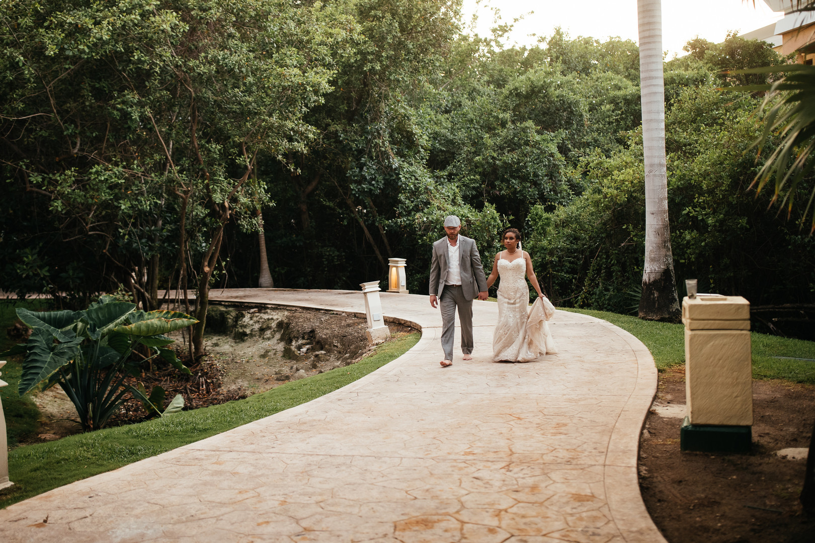 Brittany & Colton's Playa Del Carmen Beach Elopement, Photography by Faces Photography for Destination Wedding Blog Adriana Weddings