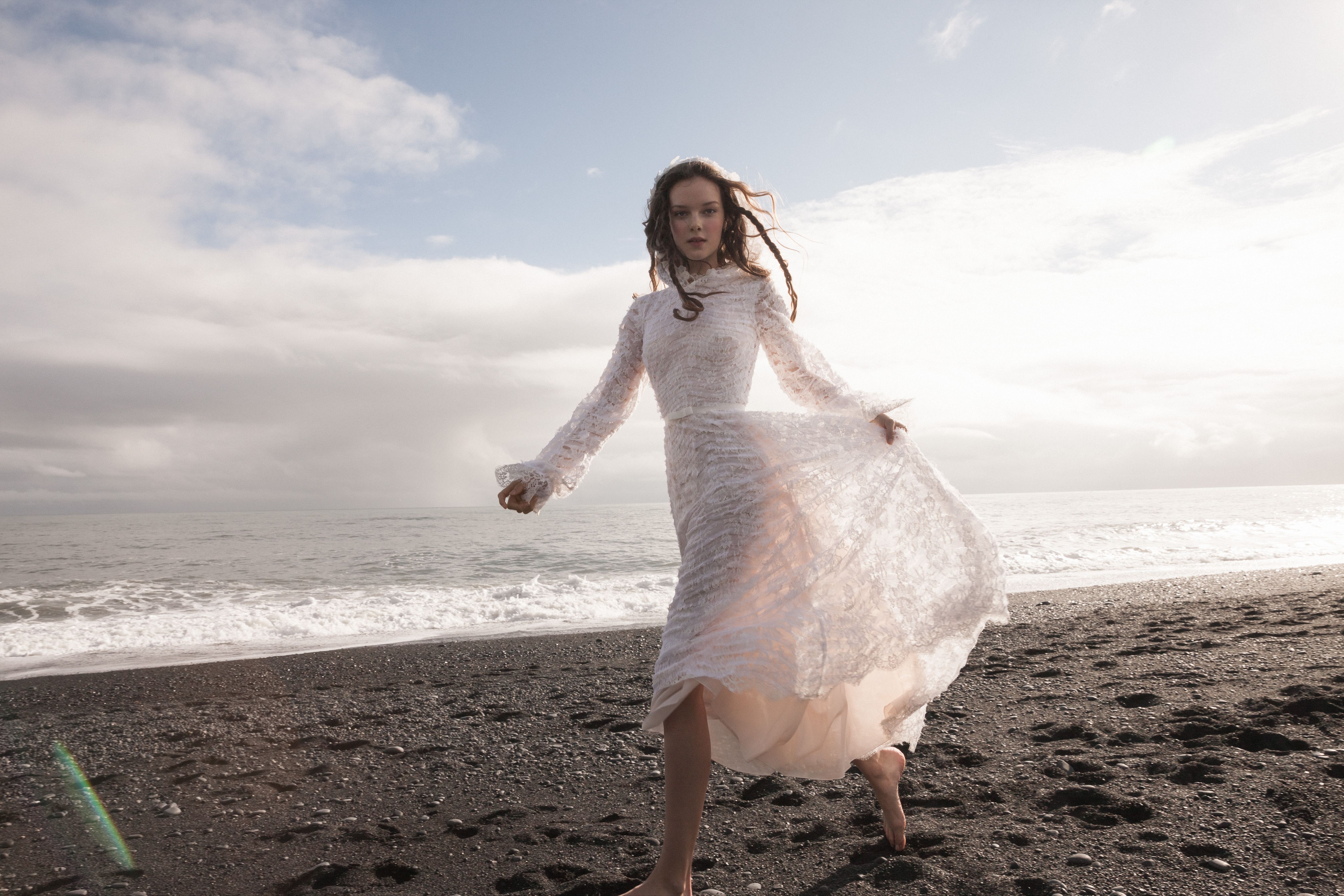 "DAALARNA Couture Introduces ""Rebelle"" For S/S 2020, for Destination Wedding Blog Adriana Weddings"