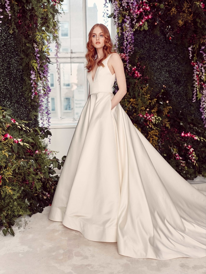 Alyne by Rita Vinieris Bridal Spring 2020 - New York Bridal Fashion Week, for Destination wedding blog Adriana Weddings, CLD PR