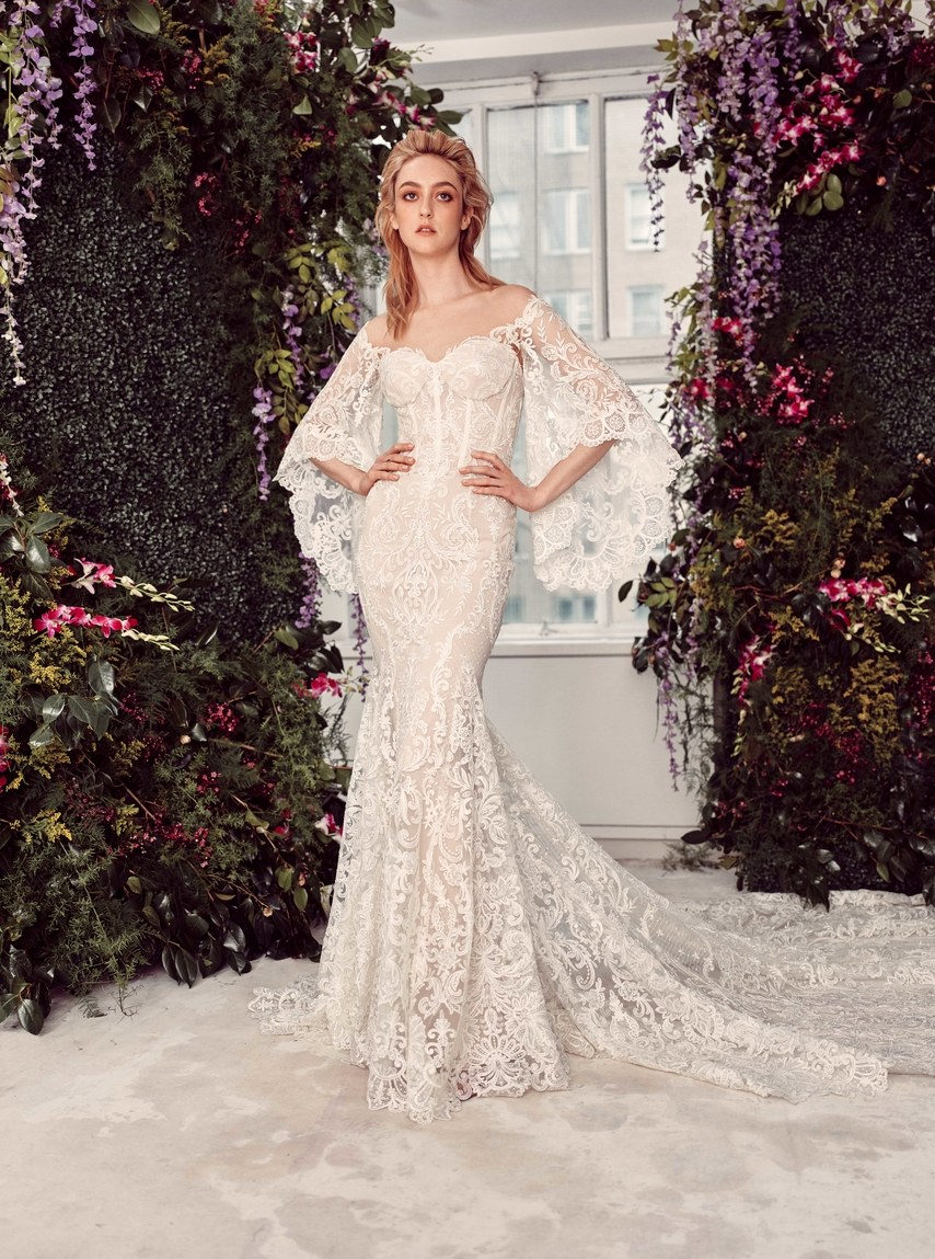 Rivini by Rita Vinieris Bridal Spring 2020 - New York Bridal Fashion Week, for Destination wedding blog Adriana Weddings, CLD PR