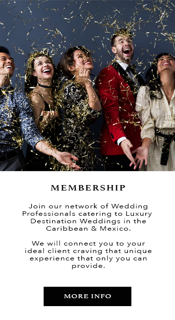 Adriana Weddings Services, luxury destination weddings in the Caribbean and Mexico