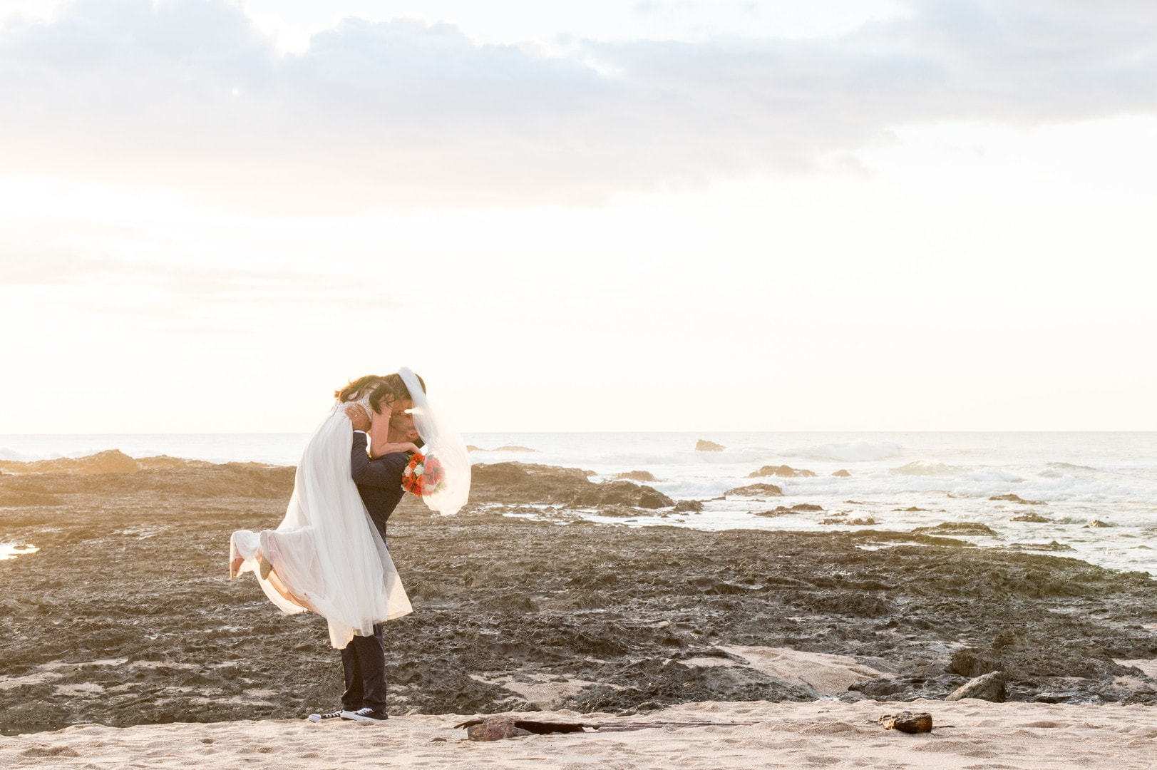 Carla & Armando's Intimate Pacific Coast Elopement, Photography by Two Adventurous Souls for Destination Wedding blog Adriana Weddings