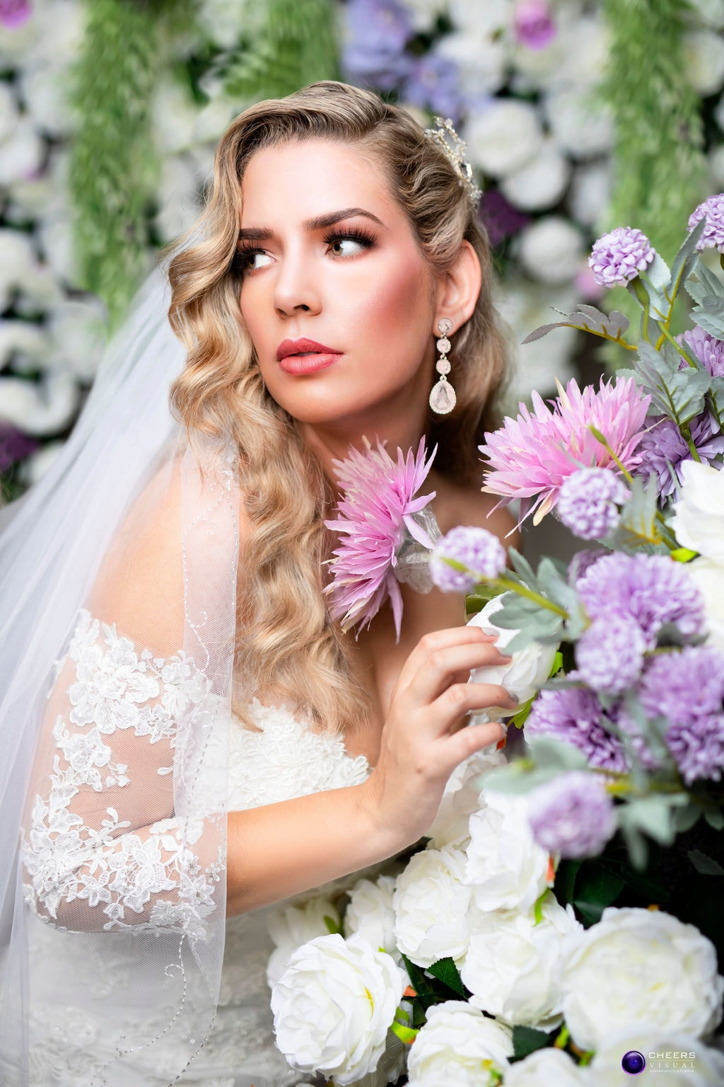 Cheers Visual Communications Launches Photo Studio with Elegant Bridal Styled Shoot, Photography by Cheers Visual Communications for Destination Wedding Blog Adriana Weddings
