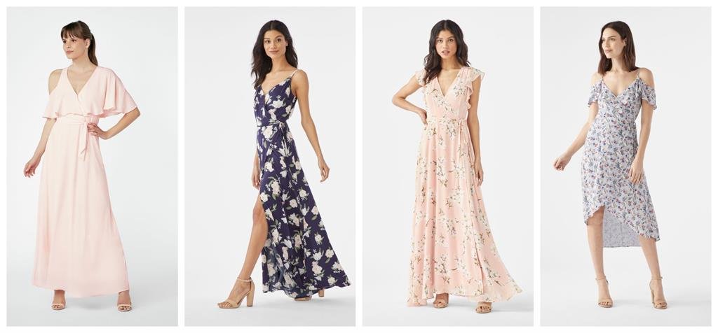 The Perfect Summer Wedding Bridesmaids & Wedding Guest Dresses, CLD PR for Destination Wedding Blog Adriana Weddings