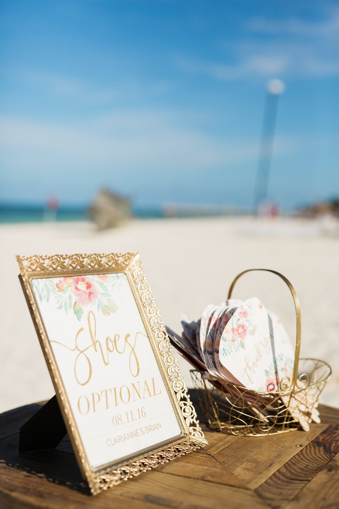 Clarianne & Brian's Darling Cancun Beach Wedding, Photography by Gideon Photography for Destination Wedding network Adriana Weddings