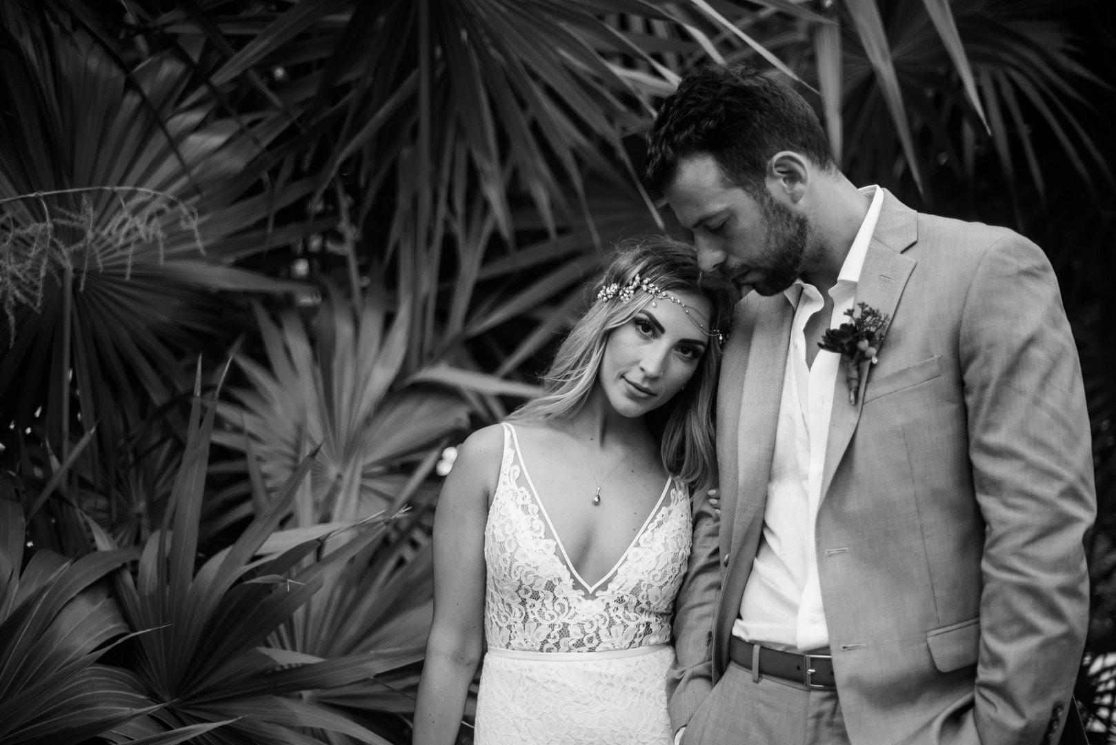 Jackie & Tyler's Bohemian, Industrial Inspired Destination Wedding, Photography by Dawn Derbyshire Photography for Destination Wedding Blog Adriana Weddings
