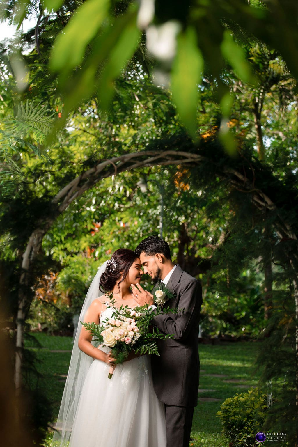 Rianne & Heera's Sweet Outdoor Wedding In Trinidad & Tobago, Photography by Cheers Visual Communications for Destination Wedding Blog Adriana Weddings