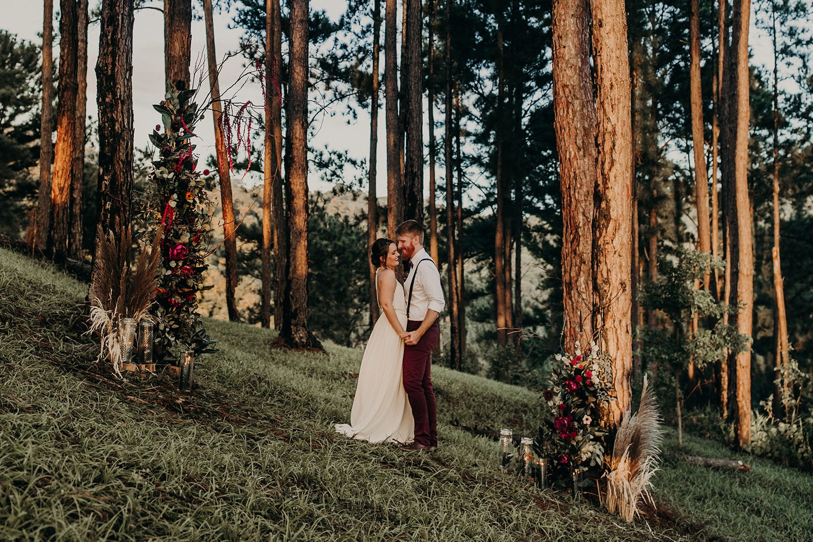 Bohemian Forest Styled Shoot in Trinidad & Tobago, Photography by Amber Dawn Photography for Destination Wedding Blog Adriana Weddings