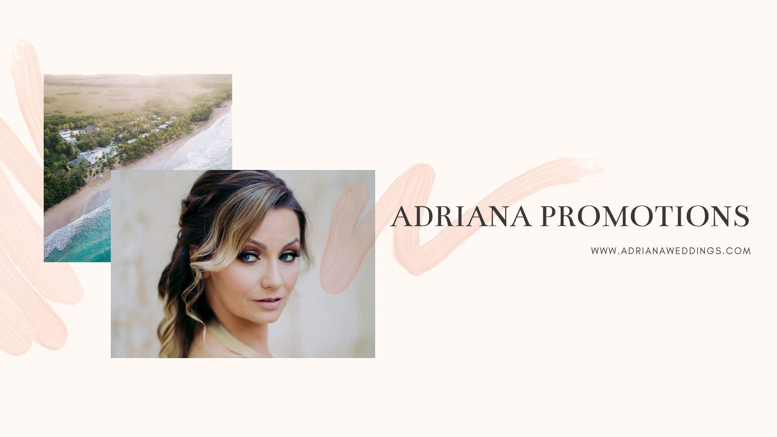 ADRIANA Promotions, Photography by NCH Films for Destination Wedding network Adriana Weddings