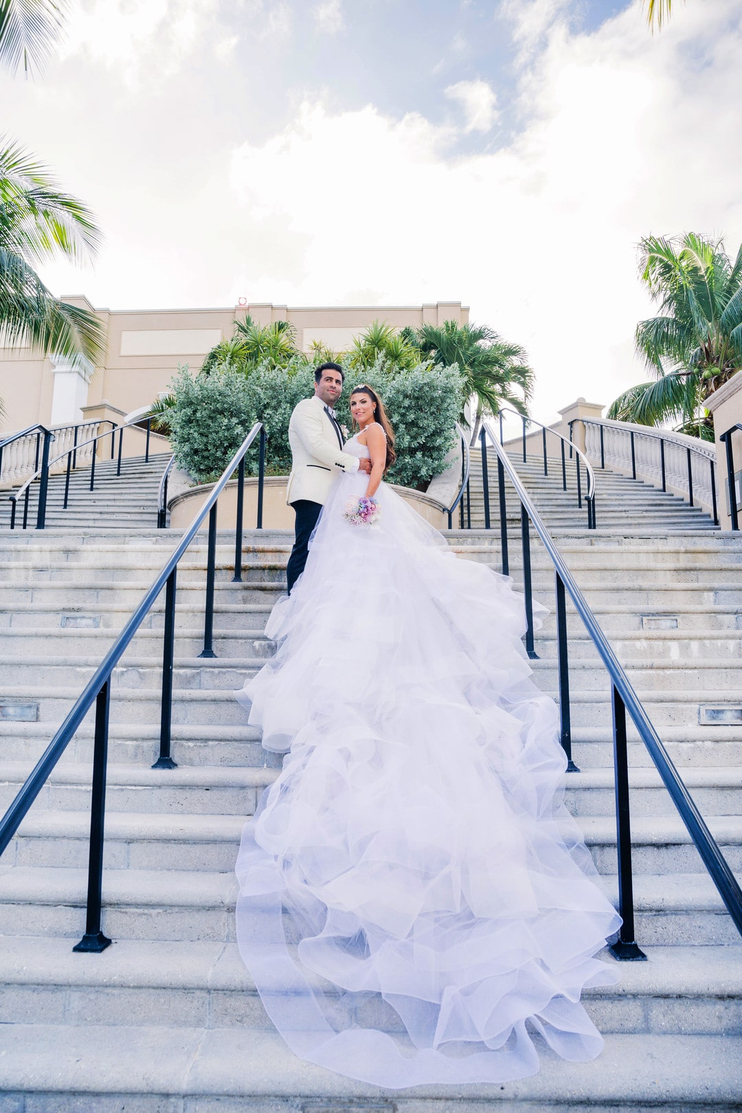 Eliza and Oren's English Garden Wedding In Grand Cayman, Photography by Rebecca Davidson Photography, Event Planning by GLDN Events for Luxury Destination Wedding Blog Adriana Weddings