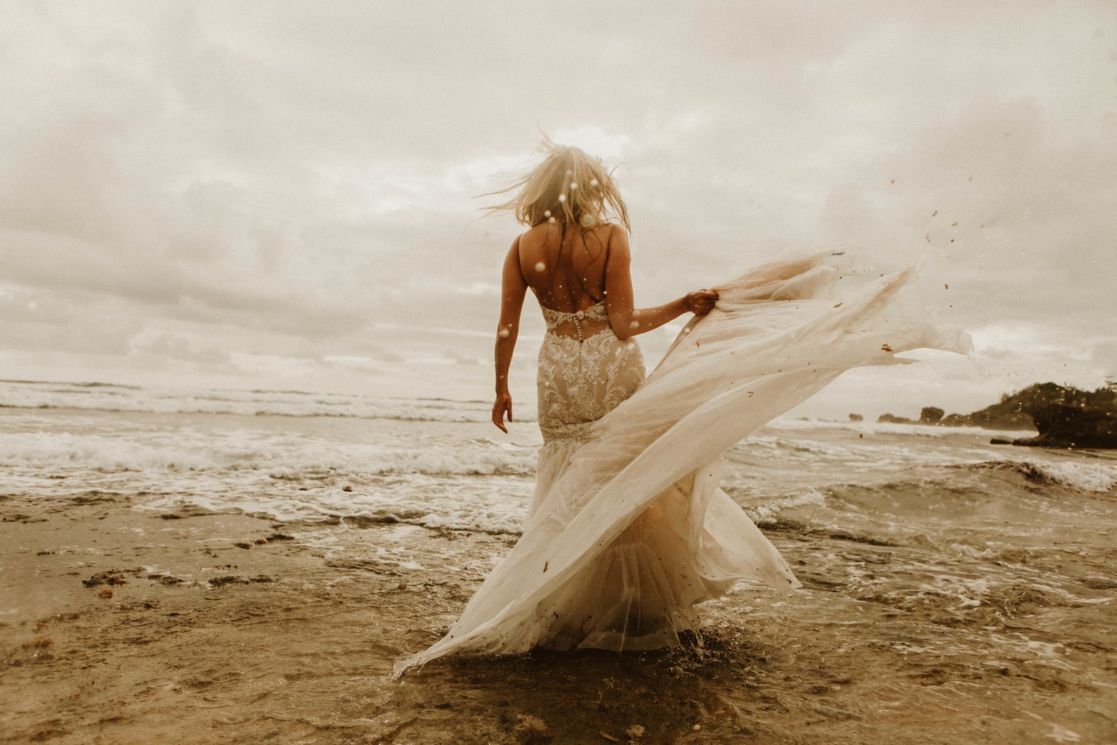 A Loving Sunrise Destination Elopement at a Cliffside In Barbados, Photography by Brit Nicole Photography for Destination wedding blog Adriana Weddings