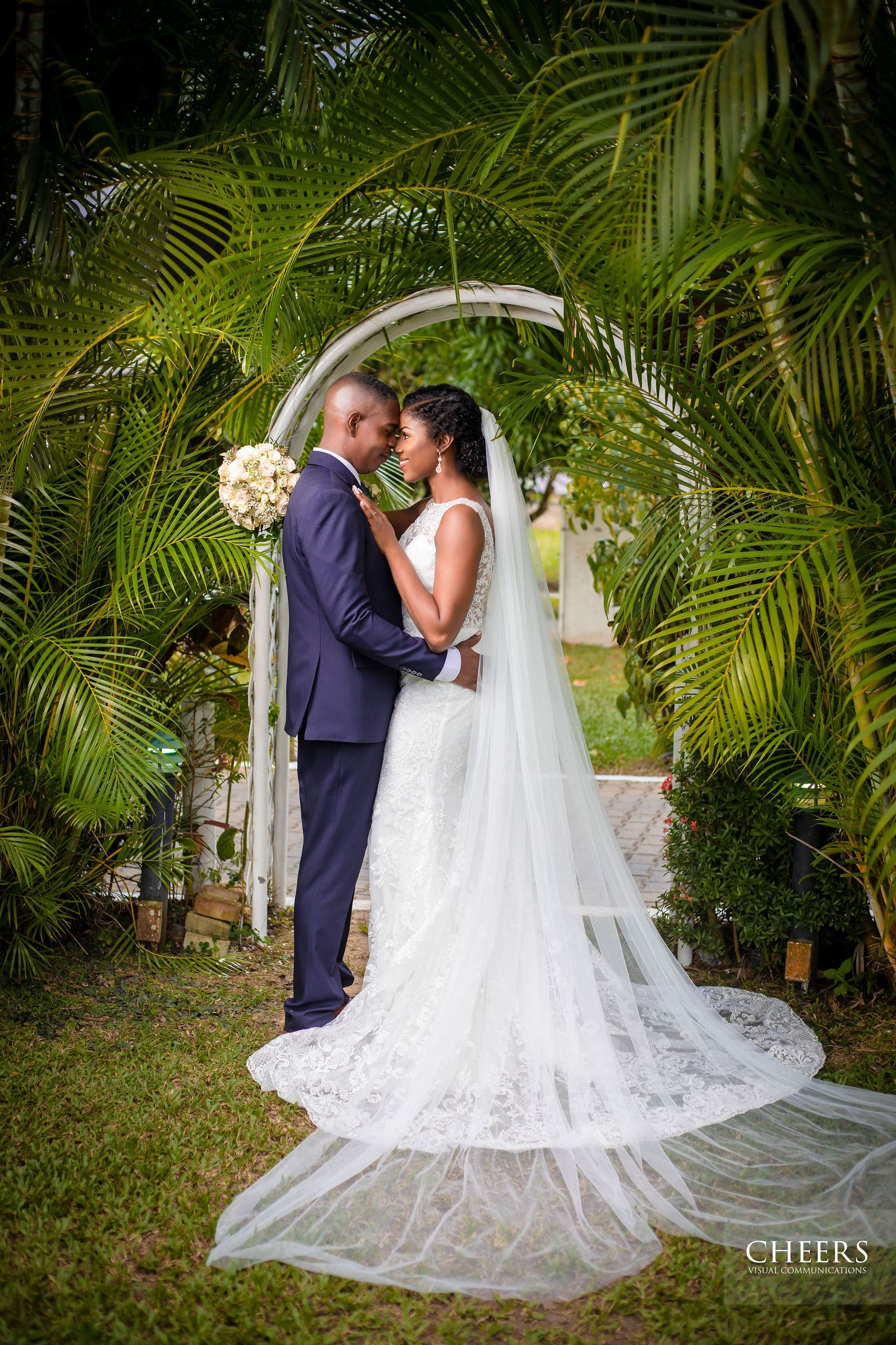 Angelina & Calvin's Rustic Garden Wedding In Trinidad & Tobago, Photography by Cheers Visual Communications for Destination Wedding network Adriana Weddings