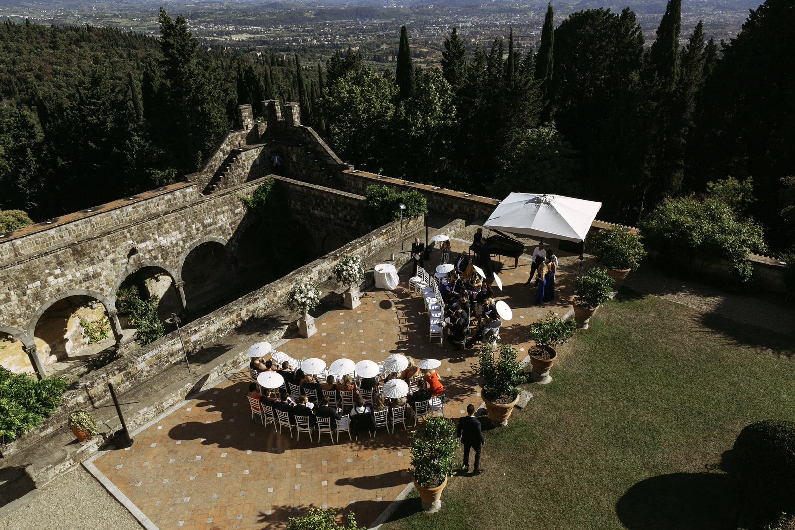 Exquisite Summer Wedding In an Enchanted Tuscan Castle, Photography byAnna Fowler photography, Wedding Planning by Primavera Dreams for Destination Wedding Blog Adriana Weddings