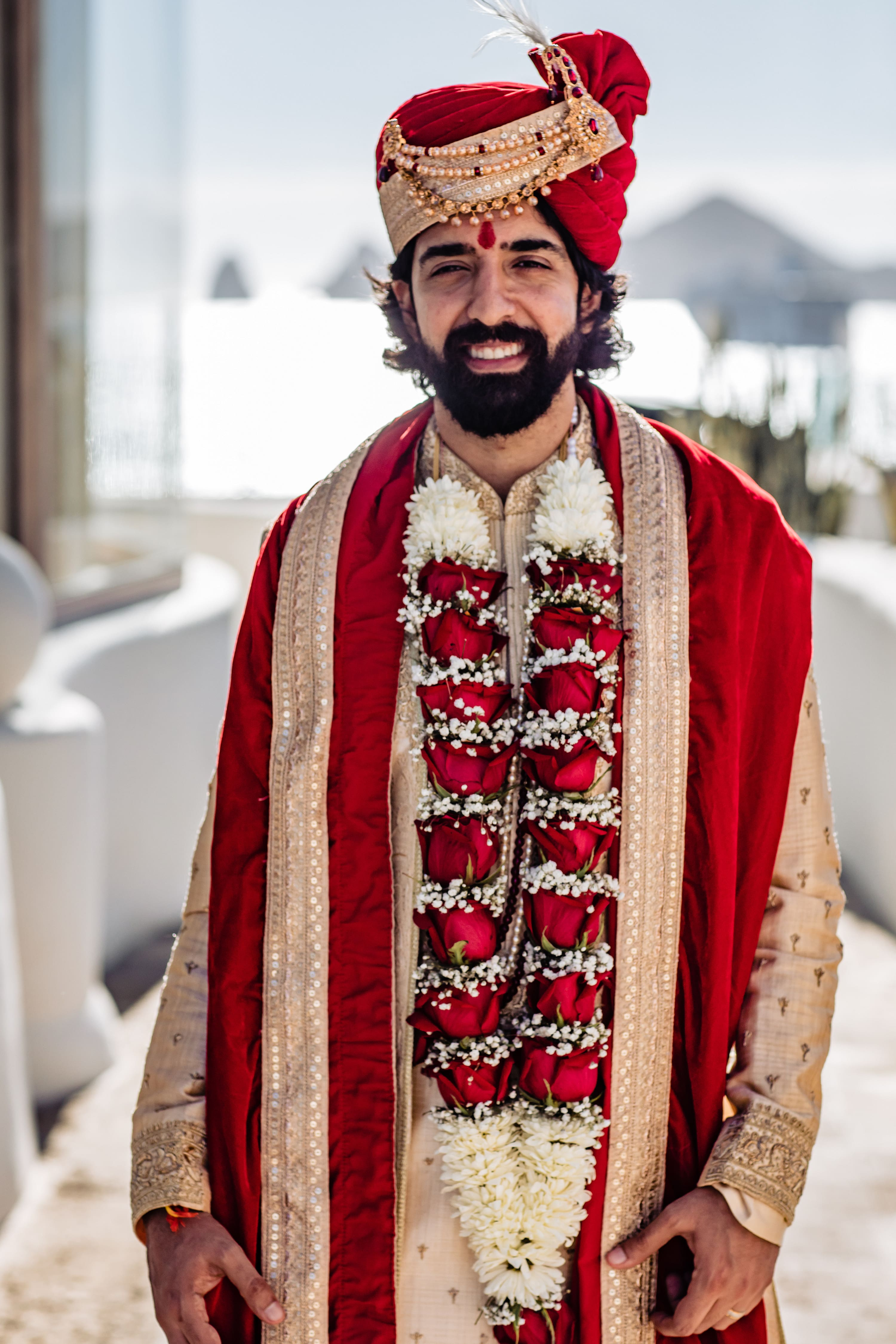 Lorena & Vivek's Destination Hindu Wedding in Los Cabos, Mexico, Photography by Fabi Rosas Cabo wedding photographer for Luxury Destination Wedding Network Adriana Weddings