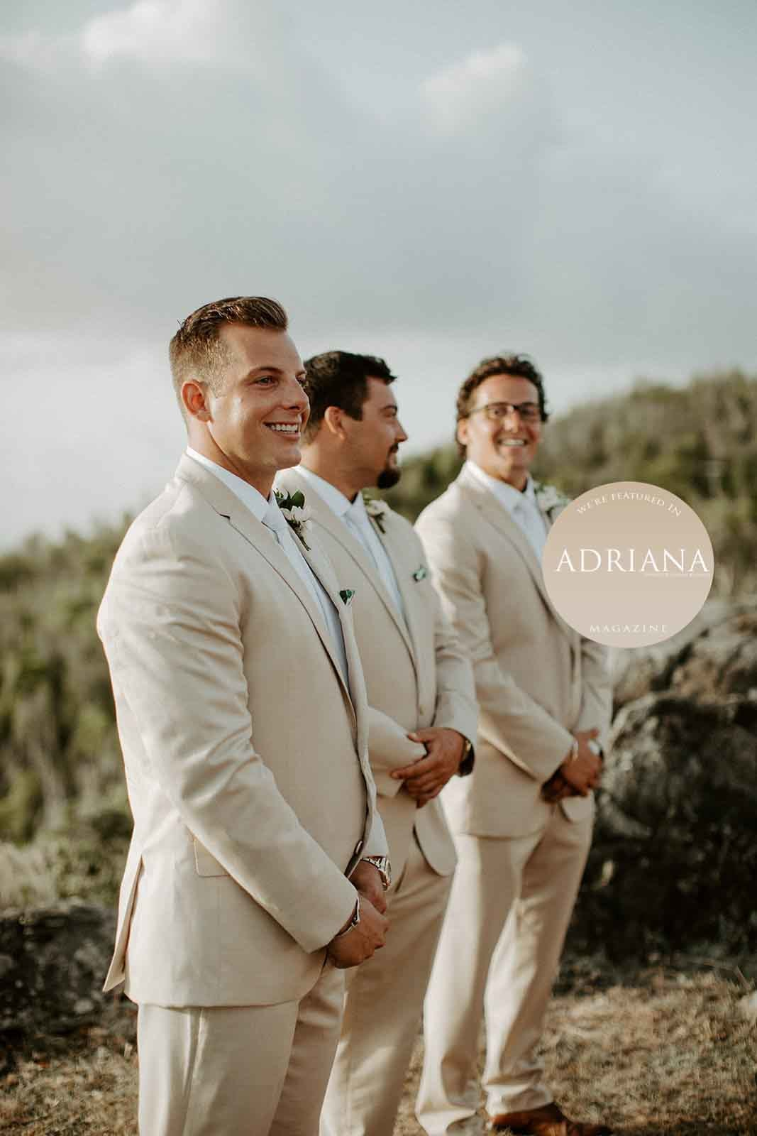 ADRIANA Magazine (Issue IV) - Kristi & Matt's Epic Wedding in St. John, USVI, Photography by Lindsay Vann Photography