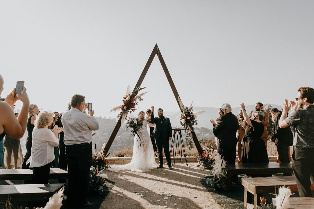 Nathan & Rony's Mountain Ceremony with A Crazy Fun Bridal Party, Photography by Astray Photography for Destination Wedding Blog Adriana Weddings