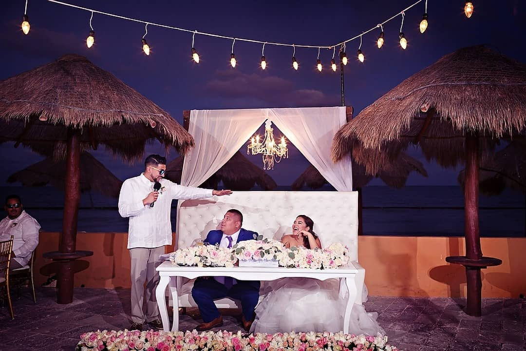 Natalie + Luis's Grand Celebration at Now Sapphire Riviera Cancun, Photography by Quetzal Wedding Photo for Destination Wedding network Adriana Weddings
