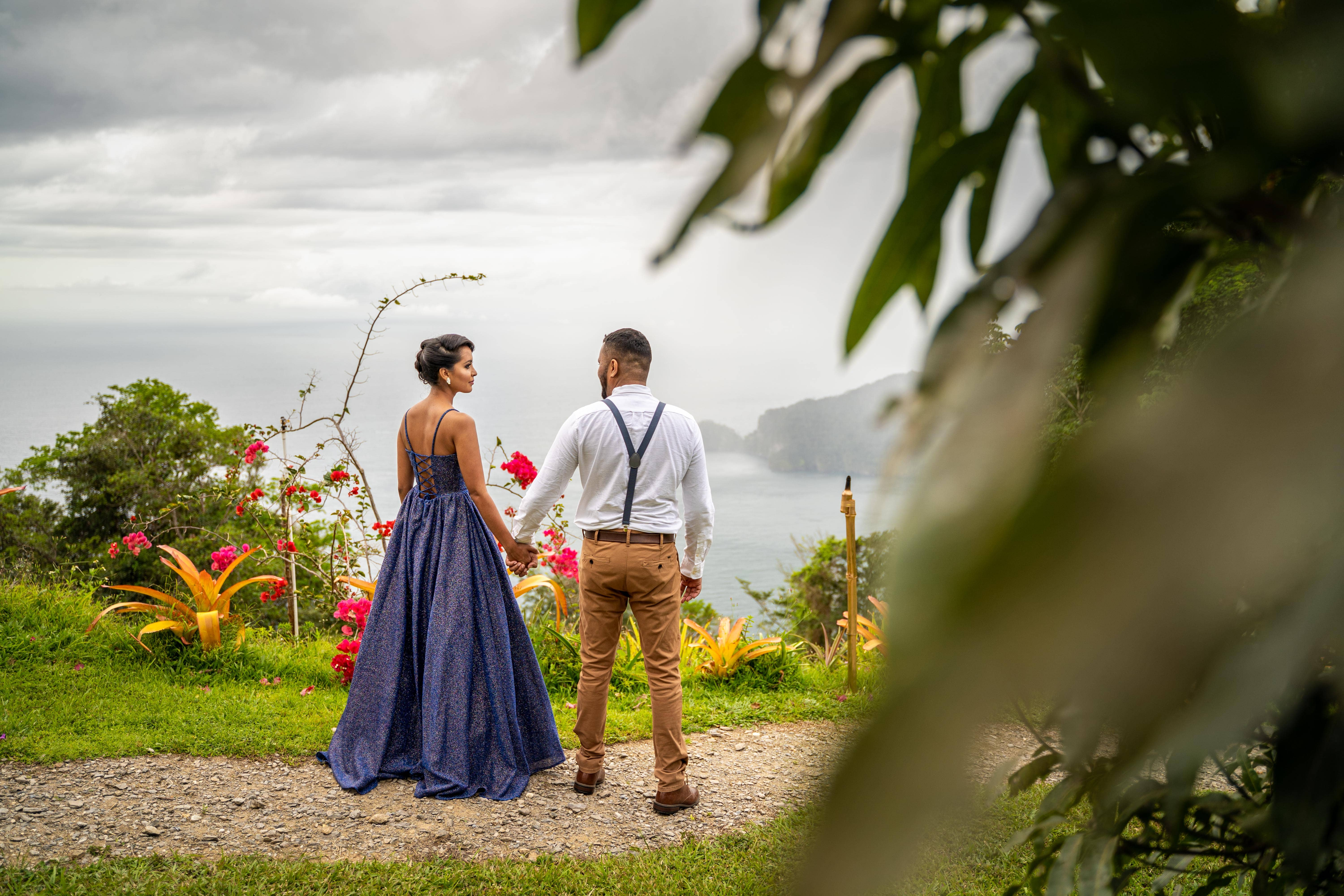 Romala & Jian's Surprise Proposal at The Mahogany Ridge Bed and Breakfast, Photography by Celeste & Reece Photography & Films for Destination Wedding Blog Adriana Weddings